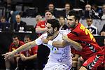 Nikola KARABATIC vs Marko SIMOVIC. Montenegro vs France: 20-32 - Preliminary Round - Group A