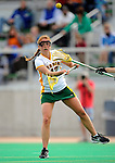 9 April 2008: University of Vermont Catamounts' Midfielder Alison Haigh, a Sophomore from Northborough, MA, in action against the University of New Hampshire Wildcats at Moulton Winder Field, in Burlington, Vermont. The Catamounts rallied to defeat the visiting Wildcats 9-8 in America East divisional play...Mandatory Photo Credit: Ed Wolfstein Photo