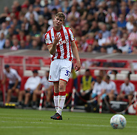 Stoke City's Nathan Collins <br /> <br /> Photographer Stephen White/CameraSport<br /> <br /> The EFL Sky Bet Championship - Stoke City v Queens Park Rangers - Saturday 3rd August 2019 - bet365 Stadium - Stoke-on-Trent<br /> <br /> World Copyright © 2019 CameraSport. All rights reserved. 43 Linden Ave. Countesthorpe. Leicester. England. LE8 5PG - Tel: +44 (0) 116 277 4147 - admin@camerasport.com - www.camerasport.com