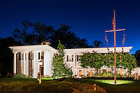 Popular Captain Linnell House restaurant, Orleans, Cape Cod, Massachusetts, USA