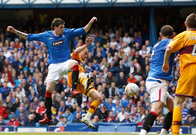 Kyle Lafferty scores goal no 2 for Rangers