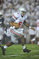 27 October 2012:  Ohio State QB Braxton Miller (5) runs. The Ohio State Buckeyes defeated the Penn State Nittany Lions 35-23 at Beaver Stadium in State College, PA.