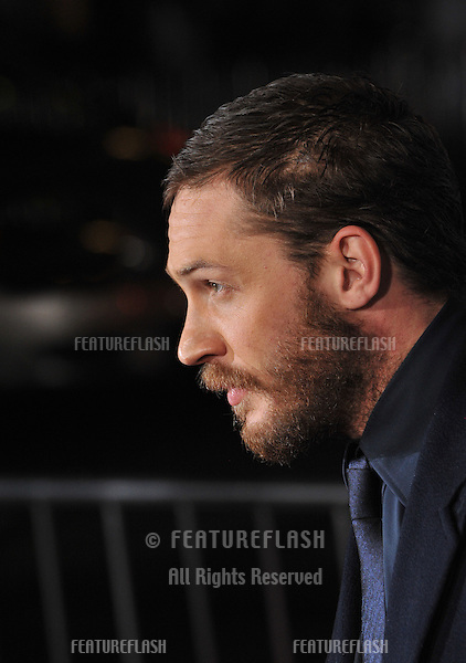"""Tom Hardy at the Los Angeles premiere of his new movie """"This Means War"""" at Grauman's Chinese Theatre, Hollywood..February 8, 2012  Los Angeles, CA.Picture: Paul Smith / Featureflash"""