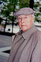 John Houseman 1987 NYC by Jonathan <br />