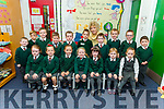 Junior infants in Miss O'Shea class in Firies NS.
