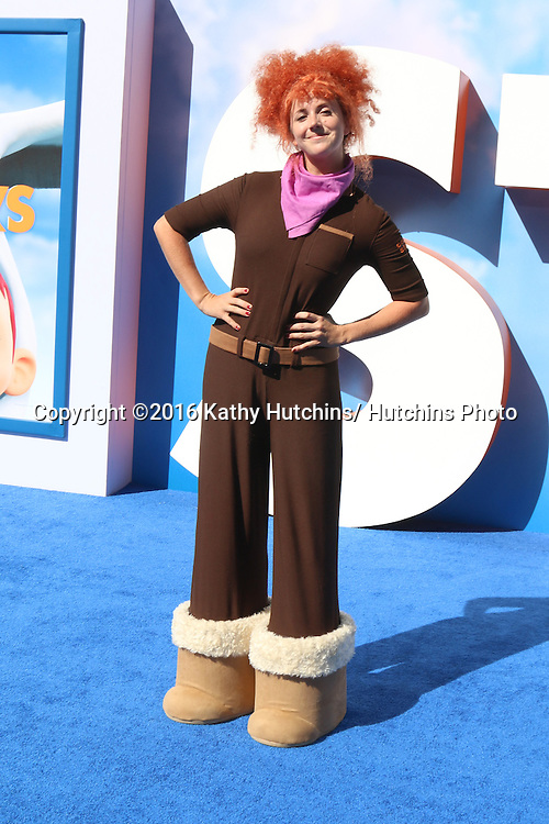"LOS ANGELES - SEP 17:  Tulip, a character at the ""Storks"" Premiere at the Village Theater on September 17, 2016 in Westwood, CA"
