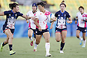 Noriko Taniguchi (JPN),<br /> AUGUST 6, 2016 - /Rugby : <br /> Women's Pool Round Pool C <br /> between  Great Britain 0-40 Japan Women's <br /> at Deodoro Stadium <br /> during the Rio 2016 Olympic Games in Rio de Janeiro, Brazil. <br /> (Photo by Yusuke Nakanishi/AFLO SPORT)