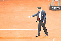 Referee during Mutua Madrid Open Tennis 2016 in Madrid,  May 06, 2016. (ALTERPHOTOS/BorjaB.Hojas) /NortePhoto.com /NortePhoto