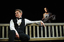 London, UK. 09.11.2015. WASTE, by Harley Granville Barker, directed by Roger Michell, opens at the National Theatre. Picture shows: Charles Edwards (Henry Trebell), Olivia  Williams (Amy O'Connell). Photograph © Jane Hobson.