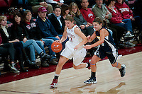 STANFORD, CA - NOVEMBER 9: Toni Kokenis at Maples Pavilion, November 9, 2010 in Stanford, California.