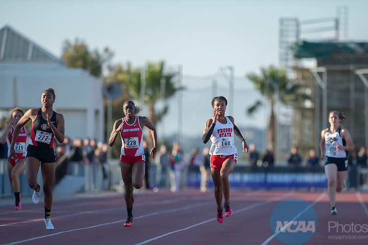 15 MAY 2015: The 2015 Mountain West Outdoor Track and Field Championship held at the San Diego State University Sports Deck in San Diego, CA. Justin Tafoya/NCAA Photos