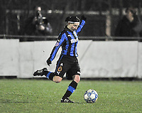 Club Brugge Dames - WB Sinaai Girls : Lies Van Hamme.foto DAVID CATRY / Vrouwenteam.be