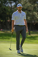 Patrick Cantlay (USA) after sinking his putt on 2 during round 1 of the World Golf Championships, Mexico, Club De Golf Chapultepec, Mexico City, Mexico. 2/21/2019.<br /> Picture: Golffile | Ken Murray<br /> <br /> <br /> All photo usage must carry mandatory copyright credit (© Golffile | Ken Murray)