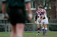 01 MAR 2008 - SCUNTHORPE, UK - Loughborough Students Steve Collins - Scunthorpe RUFC  v Loughborough Students RUFC. (PHOTO (C) NIGEL FARROW)