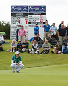 Catriona Matthew wins the 2011 Aberdeen Ladies Scottish Open with a score of 15 under par. The tournament was played over the Fidra Links at Archerfield Golf Club, East Lothian from 18th to 20th August: Picture Stuart Adams; 20th August 2011.