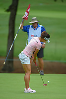 Jin Young Ko (KOR) watches her putt on 10 during round 1 of the U.S. Women's Open Championship, Shoal Creek Country Club, at Birmingham, Alabama, USA. 5/31/2018.<br /> Picture: Golffile   Ken Murray<br /> <br /> All photo usage must carry mandatory copyright credit (© Golffile   Ken Murray)