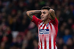 Angel Correa of Atletico de Madrid during the match between Atletico de Madrid and Borussia Dortmund of UEFA Champions League 2018-2019, group A, date 4 played at the Wanda Metropolitano Stadium. Madrid, Spain, 6 NOV 2018.