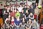 KEY OF THE DOOR: Emmet Doolan, Kilcummin (seated centre) celebrated his 21st birthday in the Granary Bar, Killarney, with his friends and family on Friday.   Copyright Kerry's Eye 2008