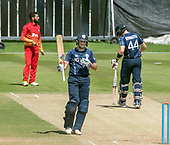 Cricket Scotland - Scotland V Zimbabwe One Day International match at Grange CC today (Thur) - this match is the second of two ODI matches this week against Zimbabwe, and Scotland won the first encounter, on Thursday, by 26 runs - 50 for Scotland's Calum MacLeod - picture by Donald MacLeod - 17.06.2017 - 07702 319 738 - clanmacleod@btinternet.com - www.donald-macleod.com