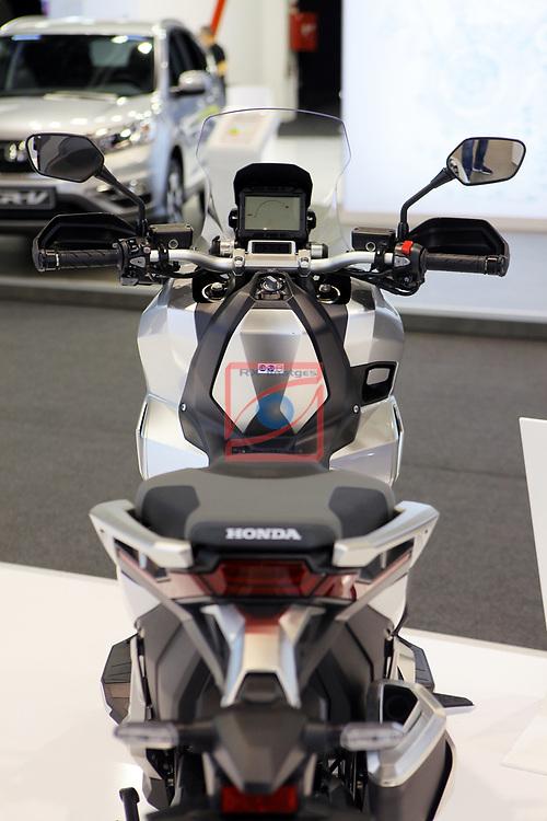 Automobile Barcelona 2017.<br /> Stand Honda.