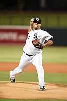 Glendale Desert Dogs pitcher Francellis Montas (31) during an Arizona Fall League game against the Surprise Saguaros on October 9, 2014 at Camelback Ranch in Phoenix, Arizona.  Surprise defeated Glendale 7-4.  (Mike Janes/Four Seam Images)