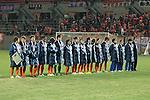 Albirex Niigata Ladies team group,<br /> DECEMBER 23, 2013 - Football / Soccer :<br /> Albirex Niigata Ladies players look dejected after the 35th All Japan Women's Football Championship final match between INAC Kobe Leonessa 2(4-3)2 Albirex Niigata Ladies at NACK5 Stadium Omiya in Saitama, Japan. (Photo by AFLO)