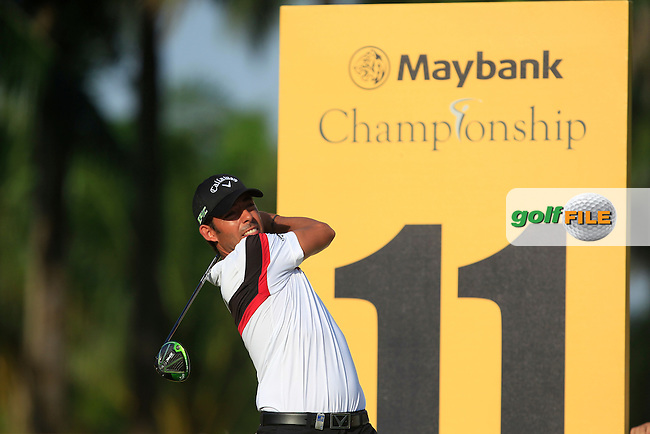Pablo Larrazabal (ESP) on the 11th tee during Round 2 of the Maybank Championship on Friday 10th February 2017.<br /> Picture:  Thos Caffrey / Golffile<br /> <br /> All photo usage must carry mandatory copyright credit      (&copy; Golffile | Thos Caffrey)