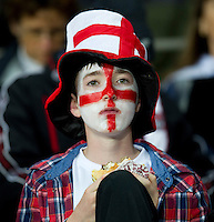Rugby World Cup Auckland England v Scotland  Pool B 01/10/2011. England Fan .Photo  Frey Fotosports International/AMN Images