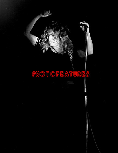Led Zeppelin 1971 Robert Plant..© Chris Walter..