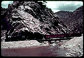 C&amp;S #71 hauling gondolas - Clear Creek Canyon, Colorado<br /> C&amp;S  Clear Creek Canyon, CO
