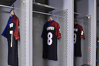 Glendale, AZ - Saturday June 25, 2016: United States locker room prior to a Copa America Centenario third place match match between United States (USA) and Colombia (COL) at University of Phoenix Stadium.