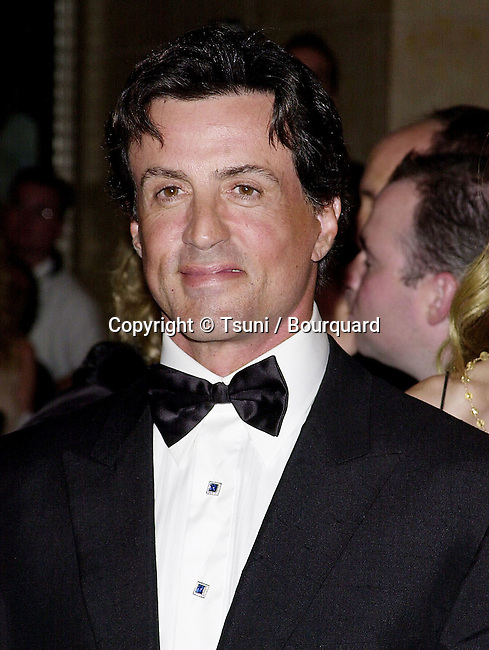 Oct 28, 2000; Los Angeles, CA, USA; <br /> The Carousel of Hope, a benefit for the Children's Diabetes Foundation was held at the Beverly Hilton, in Los Angeles<br /> Sylv. Stallone<br /> Stallone.S._Flavin.Jenn.04.JPG