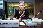 BRUSSELS - BELGIUM - 25 November 2016 -- European Training Foundation (ETF) Governing Board meeting. -- Alenka Zajc Freudenstein, Policy Officer European Neighbourhood Policy - European External Action Service IV.1. -- PHOTO: Juha ROININEN / EUP-IMAGES