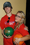One Life To Live's Kristen & Eddie Alderson at the Daytime Stars and Strikes Charity Event to benefit the American Cancer Society at the Bowlmore Lanes, New York City, New York. (Photo by Sue Coflin/Max Photos)