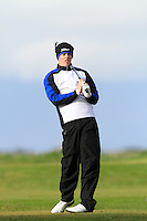 Stuart Grehan (Tullamore) on the 12th tee during Round 3 of The Irish Amateur Open Championship in The Royal Dublin Golf Club on Saturday 10th May 2014.<br /> Picture:  Thos Caffrey / www.golffile.ie