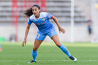 Bridgeview, IL - Sunday September 03, 2017: Christen Press during a regular season National Women's Soccer League (NWSL) match between the Chicago Red Stars and the North Carolina Courage at Toyota Park. The Red Stars won 2-1.