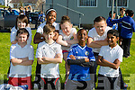 CBS Clounalour taking part in Active schools week on Tuesday were Front l-r Declan Lacey,Zac Boyle,John Adedeji and Sandra Varghese.Back l-r Kyle Byrne, Palesa Hlongwane,Leah Connelly and Mason O'Brien