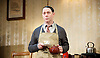 The Dresser<br /> by Ronald Harwood<br /> at The Duke of York's Theatre, London, great Britain <br /> press photocall <br /> directed by Sean Foley <br /> 10th October 2016 <br /> <br /> <br /> <br /> Reece Shearsmith as Norman <br /> <br /> <br /> Photograph by Elliott Franks <br /> Image licensed to Elliott Franks Photography Services