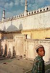 At Aurangzeb's tomb, Khudabad, near Zainuddin Shirazi's shrine