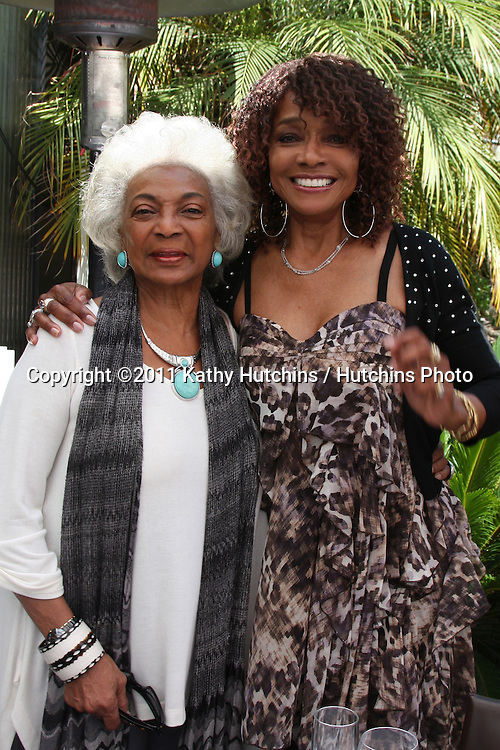 LOS ANGELES - AUG 20:  Nichelle Nichols, Beverly Todd at the Julia Pace Mitchell Bridal Shower at the W Hotel - Westwood on August 20, 2011 in Westwood, CA