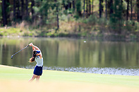 Linn Grant (SWE) on the 9th during the second round of the Augusta National Womans Amateur 2019, Champions Retreat, Augusta, Georgia, USA. 04/04/2019.<br /> Picture Fran Caffrey / Golffile.ie<br /> <br /> All photo usage must carry mandatory copyright credit (&copy; Golffile | Fran Caffrey)