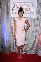 Hannah Simone<br /> at the 25th Courage In Journalism Awards, Beverly Hilton, Beverly Hills, CA 10-28-14<br /> David Edwards/DailyCeleb.com 818-249-4998