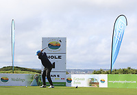 Luke o'Neill (Galway) on the 1st tee during the Connacht Final of the AIG Barton Shield at Galway Bay Golf Club, Galway, Co Galway. 11/08/2017<br /> <br /> Picture: Golffile | Thos Caffrey<br /> <br /> <br /> All photo usage must carry mandatory copyright credit     (&copy; Golffile | Thos Caffrey)