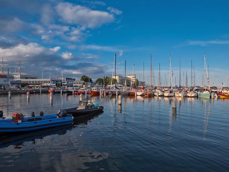Port jachtowy w Gdyni.