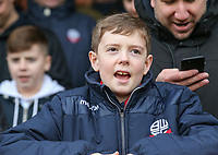 Bolton Wanderers fans take their place in the stand ahead of kickoff <br /> <br /> Photographer Alex Dodd/CameraSport<br /> <br /> The EFL Sky Bet Championship - Brentford v Bolton Wanderers - Saturday 13th January 2018 - Griffin Park - Brentford<br /> <br /> World Copyright &copy; 2018 CameraSport. All rights reserved. 43 Linden Ave. Countesthorpe. Leicester. England. LE8 5PG - Tel: +44 (0) 116 277 4147 - admin@camerasport.com - www.camerasport.com