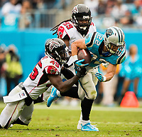 The Carolina Panthers v. The Atlanta Falcons at Bank of America Stadium, Sunday afternoon November 5, 2017 in Charlotte, North Carolina.<br /> <br /> Charlotte Photographer - Patrick SchneiderPhoto.com