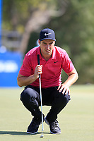 Ross Fisher (ENG) during the 1st round of the DP World Tour Championship, Jumeirah Golf Estates, Dubai, United Arab Emirates. 15/11/2018<br /> Picture: Golffile | Fran Caffrey<br /> <br /> <br /> All photo usage must carry mandatory copyright credit (© Golffile | Fran Caffrey)