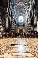 Il Duomo of Siena,  Santa Maria Assunta, Tuscany, Italy