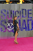 LONDON, ENGLAND - AUGUST 3: Xenia Tchoumitcheva attending the 'Suicide Squad' European Premiere at Odeon Cinema, Leicester Square on August 3, 2016 in London, England.<br /> CAP/MAR<br /> &copy;MAR/Capital Pictures /MediaPunch ***NORTH AND SOUTH AMERICAS ONLY***