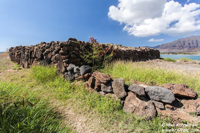 Ku'ilioloa Heiau, Waianae, Oahu, Hawaii